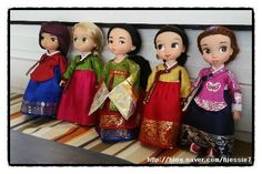 Disney Baby Dolls, Disney Babys, Baby Disney, Disney Princess, Korean Crafts, Disney Animator Doll, Custom Dolls, Rapunzel, Doll Clothes