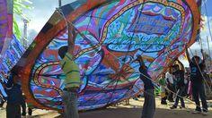 Guatemala - November 2011    Guatemala, Sumpango - Day of the Dead (1st Nov) Kite Festival
