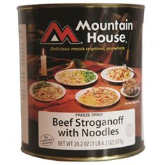 Mountain House Beef