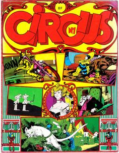 First issue of Circus a French bandedessinée magazine...  First issue of Circus a French bandedessinée magazine published by Glénat circa late 1970s.