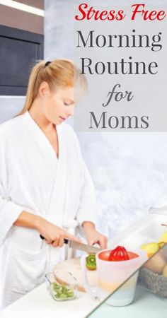 A little time management is all it takes to start your day in a smooth and productive way. Here is a stress free morning routine for moms    #relievestress #stressmanagement