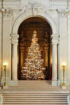San Francisco, California ~ City Hall at Christmas