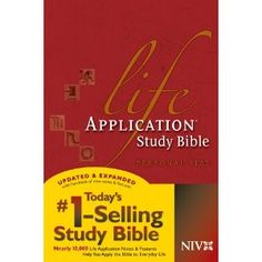 My favorite Bible with life application for every day life!!!  I love to read this daily!! :)