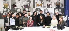 DIESEL Staff with Students of Accademia di Costume e di Moda