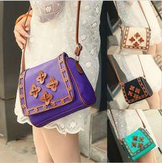 Girls Fashion Handbag Shoulder Bag Leather Messenger Bag