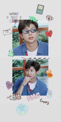 Namjoon, Jungkook Jimin, Bts Taehyung, Bts Aesthetic Wallpaper For Phone, Bts Wallpaper, Disney Wallpaper, Aesthetic Wallpapers, Bts Lockscreen, Mixtape