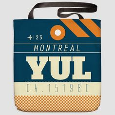YUL - Tote Bag Montréal–Trudeau Airport - Montreal, Canada