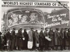 At the Time of the Louisville Flood, Red Cross Relief Station, Kentucky, 1937, Margaret Bourke-White