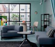 Height Width Depth, Black Sofa, Armchair, Ottoman, Upholstery, Elephant, Lounge, Furniture, Design