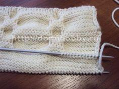 Достаточно простые приемы вязания спицами позволяют получить красивые объемные полотна со складками, так называемый эффект «клоке» . Ос...