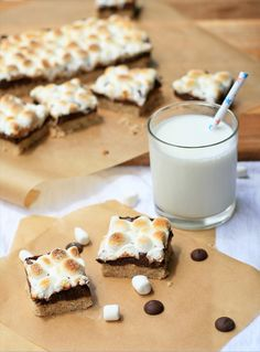 Gluten Free Smores Bars @Christina Rensch - This one is for you. =)