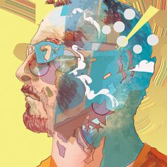 Christian Ward colorful psychedelic illustrations