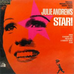 Star! - Julie Andrews Julie Andrews, Vintage Records, Vinyl Records, Vintage Designs, Album, Stars, Film, My Love, Cover