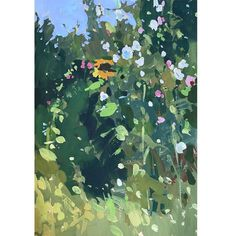 """Haidee-Jo Summers ROI Artist on Instagram: """"Hollyhocks and a sunflower in gouache in my sketchbook yesterday. I was a huge fan of Gustav Klimt thirty years ago, particularly his…"""" Hollyhock, Gustav Klimt, Gouache, Artist, Summer, Painting, Instagram, Summer Time, Artists"""