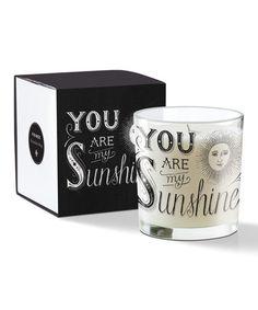 Chalk Sunshine 6-Oz. May Candle by Fringe Studio, $12 !!    #zulily #zulilyfinds