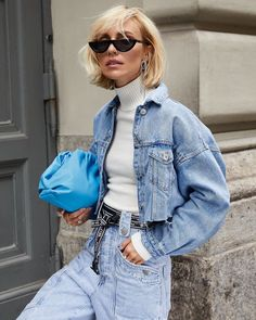 Layering Outfits, Jacket Style, Jean Outfits, Editorial Fashion, Denim Jeans, Vintage Fashion, Vintage Style, Black And Grey, Your Style