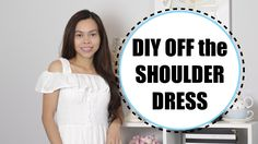 DIY Off the Shoulder Dress, Sewing Projects for Beginners