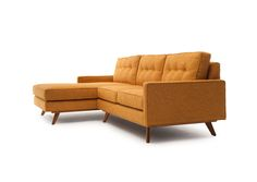 Taylor Sectional fromThrive Furniture. They specialize in handmade Mid-Century furnishings. Great site for anyone who loves Mid-Century, but very pricey (at least for me!). Still, I love their furniture.
