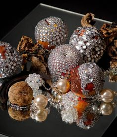 Luciana Rondolini's Bejeweled Sculptures and Drawings