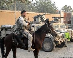 """US Special Forces """"Cavalry"""" in Afghanistan, 2002"""