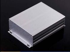 """Aluminum enclosure electric PCB project extrusion box 97(3.81"""")X40(1.57"""")X120(4.72"""")mm DIY NEW"""
