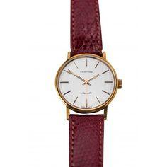 9879fbc196e0 Clásico reloj de pulsera en oro de 18 k de la marca de Certina de los