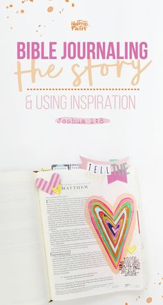 Bible Journaling Process Video - Finding Inspiration - Illustrated Faith - Illustrated Faith
