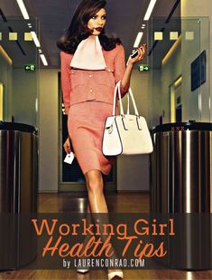 5 Tips to Stay Healthy at Work - for the working woman