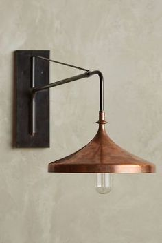 Shop the Copper Wall Sconce and more Anthropologie at Anthropologie today. Read customer reviews, discover product details and more.