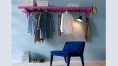 Appendiabiti o portascarpe fai-da-te, una scala di recupero per l'ingresso e la camera da letto