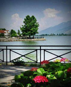 Ioannina, Lake Pamvotis, Epirus region, Greece Zorba The Greek, Santorini Villas, Myconos, Crete, Travel Destinations, Nature Photography, Places To Visit, Around The Worlds, Paradise