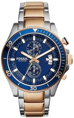 Fossil Wakefield Stainless Steel Mens Watch