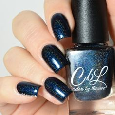 Colors by Llarowe - Sir Purr Color: Midnight black blue shimmer