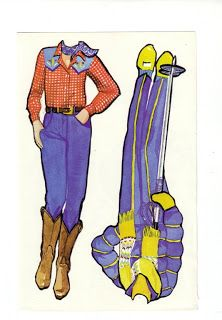 Paper Dolls: Two Girlfriends Super Seventies