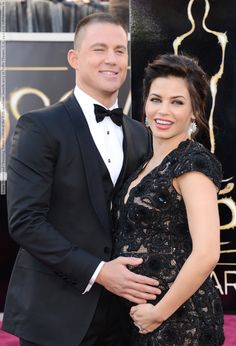 Jenna Dewan and Channing Tatum arrives at the 85th Academy Awards 2013 at Dolby Theatre, L.A., 24.02.13 (4 HQ pictures)