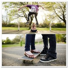 skateboard photo shoot - Awe.... so many possibilities with this prop