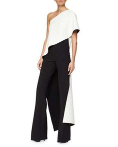 Bonded Silk Bias Top & High-Rise Flared Crepe Pants by Narciso Rodriguez at Neiman Marcus.