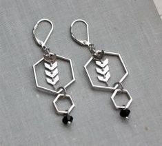 93feab527 Wear it Out - Hexagon Earrings Jewelry Trends, Personalized Items, Gifts,  How To