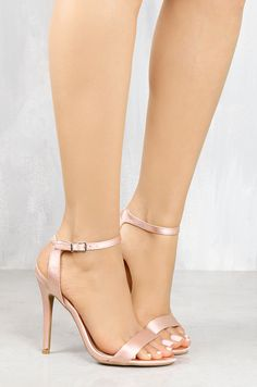 Blush, Very High Heels, Satin, Fashion Forward, Stiletto Heels, Eye Candy, Kitten Heels, Footwear, Bring It On