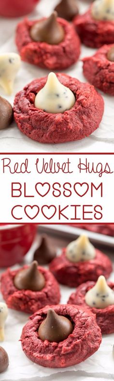 DIY Valentines Day Cookies - Red Velvet Hugs Cookies - Easy Cookie Recipes and Recipe Ideas for Valentines Day - Cute DIY Decorated Cookies for Kids, Homemade Box Cookies and Bouquet Ideas - Sugar Cookie Icing Tutorials With Step by Step Instructions - Quick, Cheap Valentine Gift Ideas for Him and Her http://diyjoy.com/diy-valentines-day-cookie-recipes