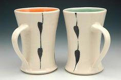 Linda W. Bowman  - coffee mugs