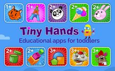 Ad: Looking for apps for #toddlers? Look no further than #TinyHands apps, designed with learning in mind.