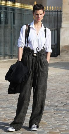 PFW STREET STYLE: ANDRODGYNY
