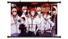 K Project Anime Fabric Wall Scroll Poster (32' X 21') Inches ** For more information, visit now : DIY : Do It Yourself Today