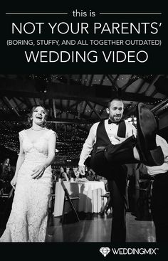 This is NOT your parents' wedding video. WeddingMix is fun to make and fun to watch! Starting at $199!