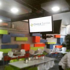 Ya en línea la Cartelera Digital para nuestro cliente Sanitas de Venezuela.  Corporate Digital Board for our customer Sanitas now Online!  #DigitalSignage #DigitalAdvertising #SeñalizaciónDigital #Marketing #Retail