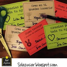 Spanish student awards and extra credit cards - 500 follower FREEBIE