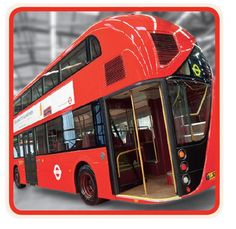 Red Double-Decker Buses to Return to the Streets of London as Fuel-Efficient Hybrids