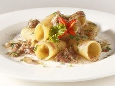 Simple ingredients, easy  preparation: a delicious first course, authentic Italian culinary tradition.
