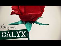 How to make an Origami Calyx (for the Pentagon Rose) by Kade Chan - YouTube
